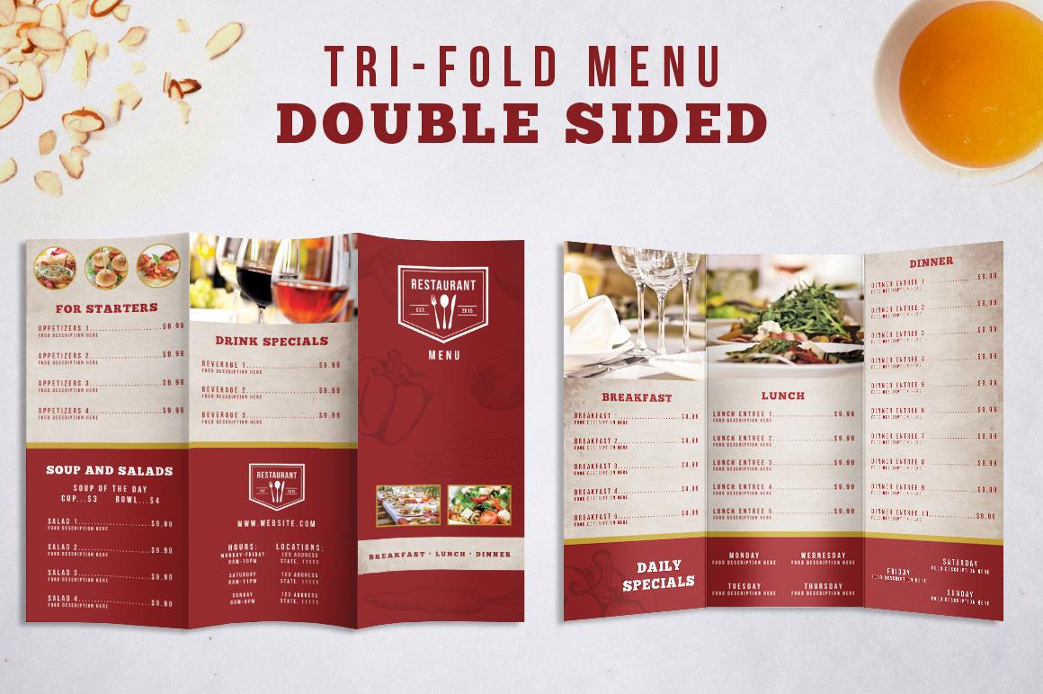 Restaurant Identity Bundle example image 3
