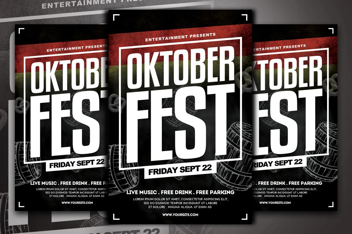 Oktoberfest Flyer Template example image 3