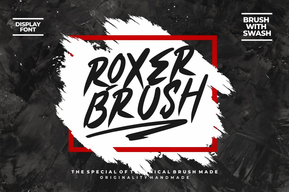 Roxer Brush example image 1