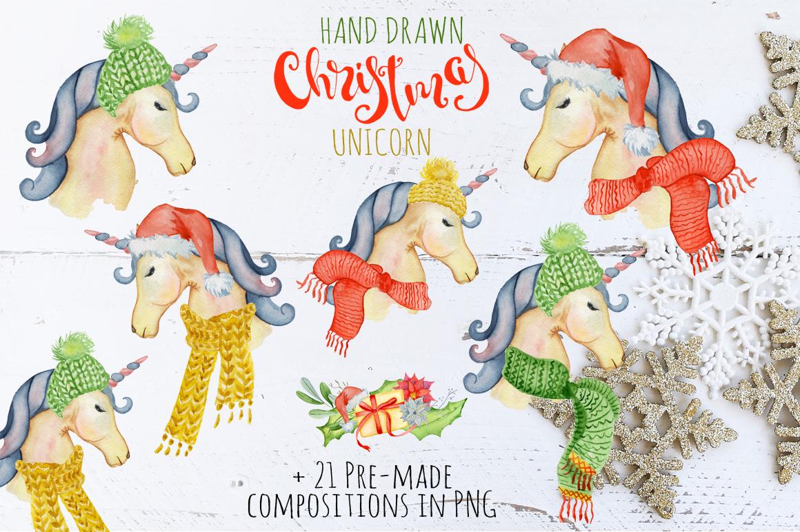 Christmas unicorn creator example image 3