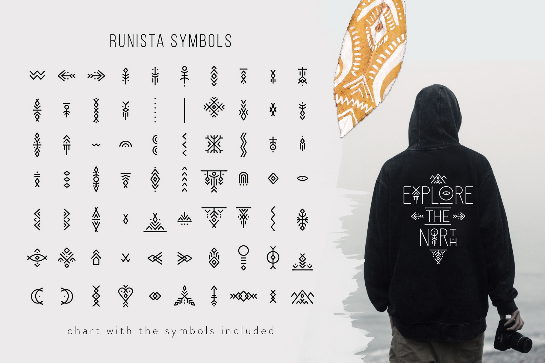 Runista - Thin Line Geometric Font example image 9