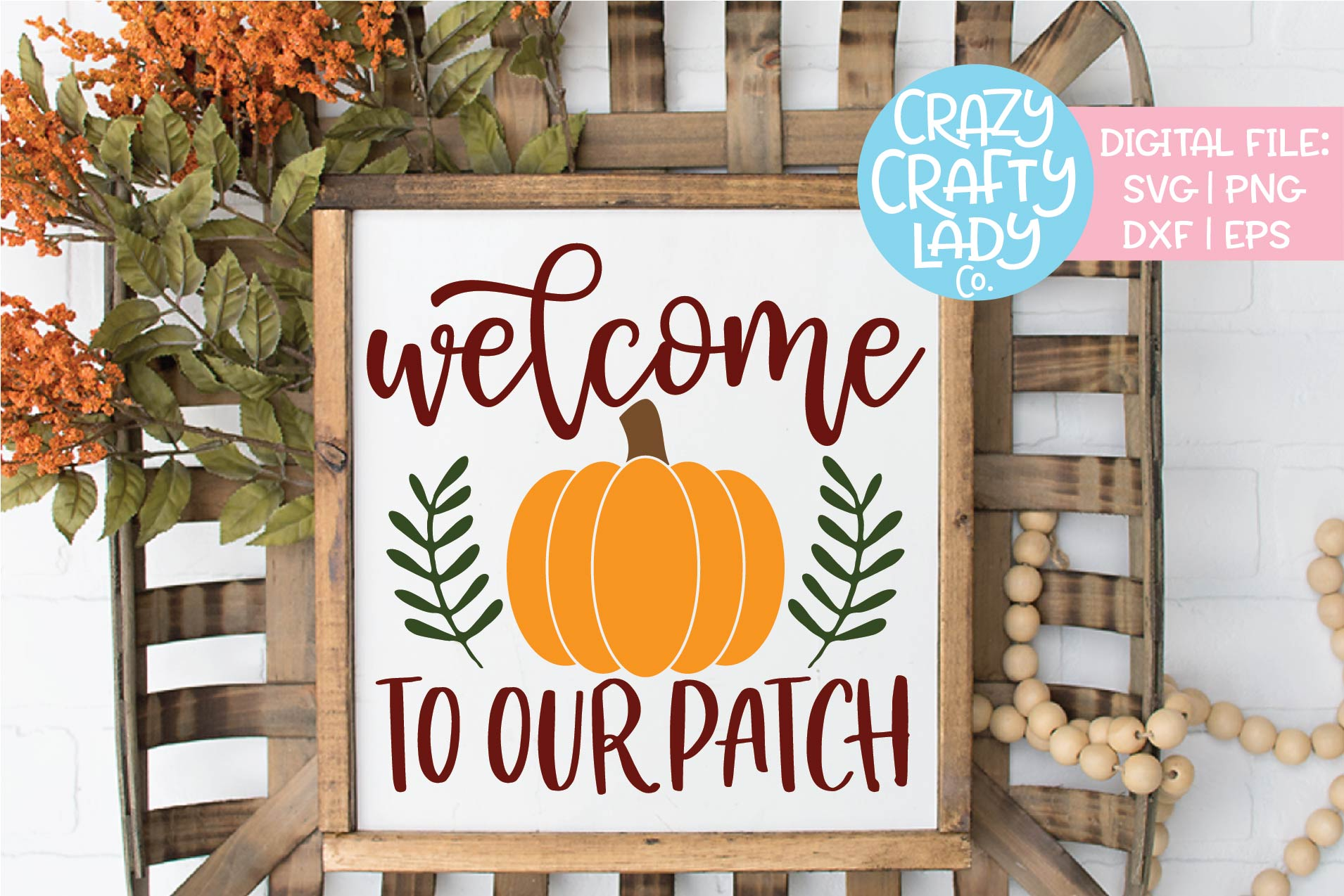 Fall Sign SVG DXF EPS PNG Cut File Bundle example image 10