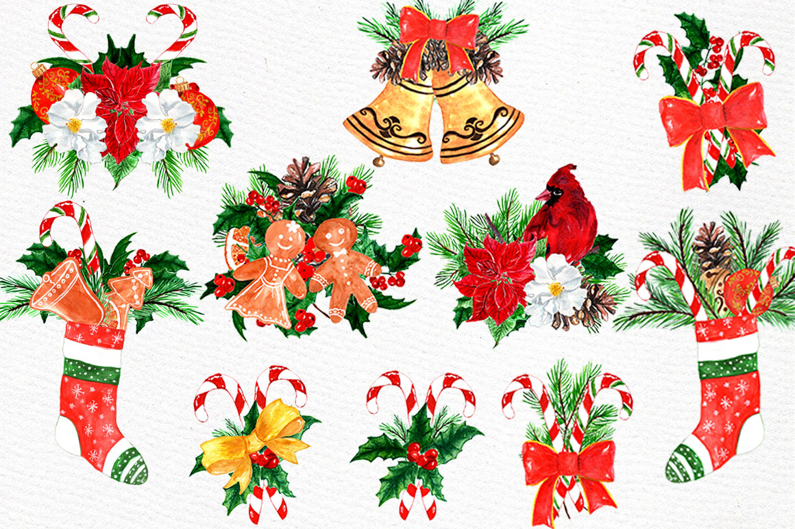 Christmas Clipart Collection example image 2