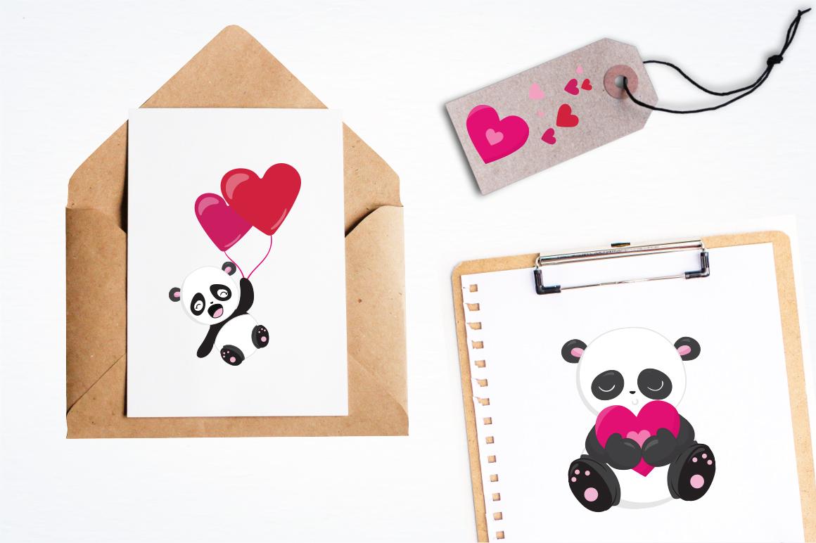 Panda Bear graphics and illustrations example image 4