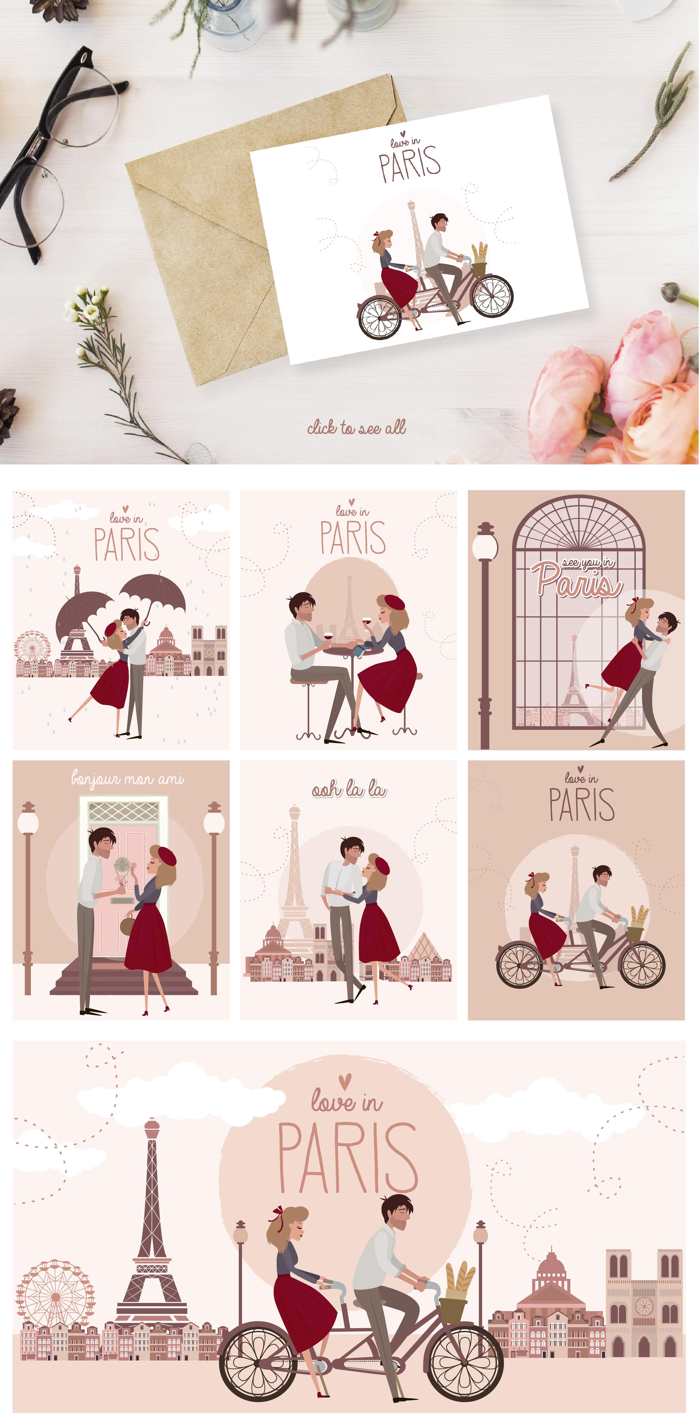 Paris. One romantic story example image 7
