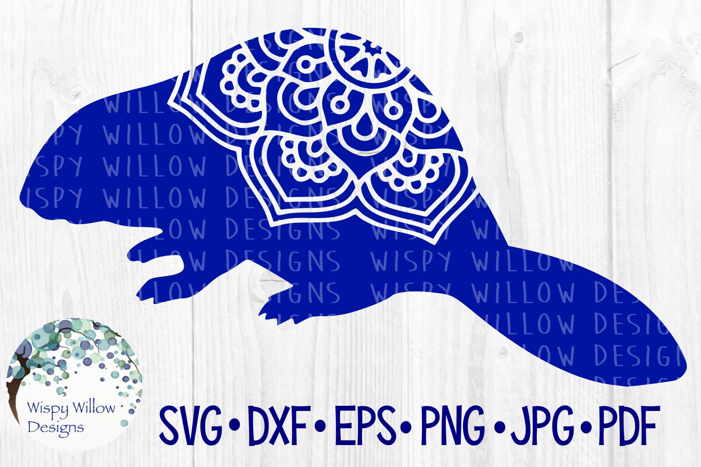 34 File Huge Mandala Animal SVG Cut File Bundle example image 6