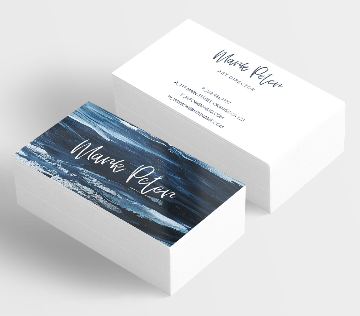 Art canvas effects business card example image 3