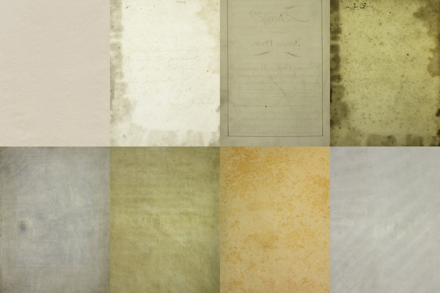 40 Vintage Paper Textures example image 2