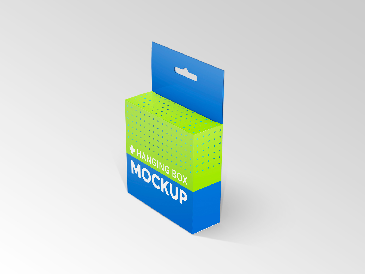 Flat Square Box with Hanger Mockup example image 14