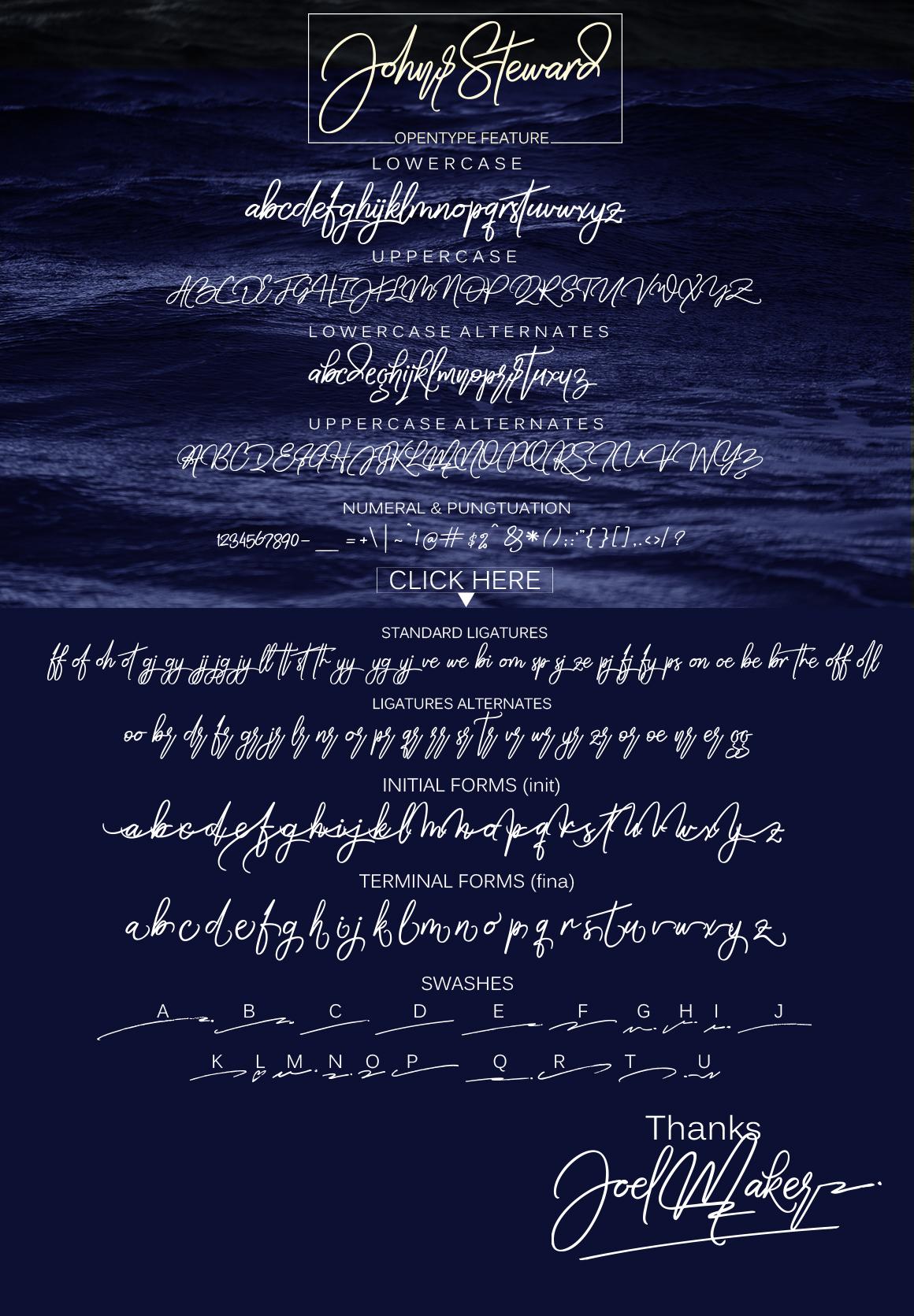 Bella script + swash example image 7