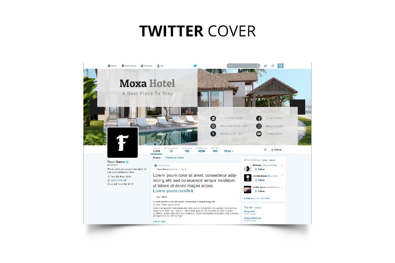 Moxa Hotel Social Media Kit example image 13