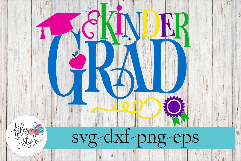 2019 Kindergarten Grad SVG Cutting Files example image 1