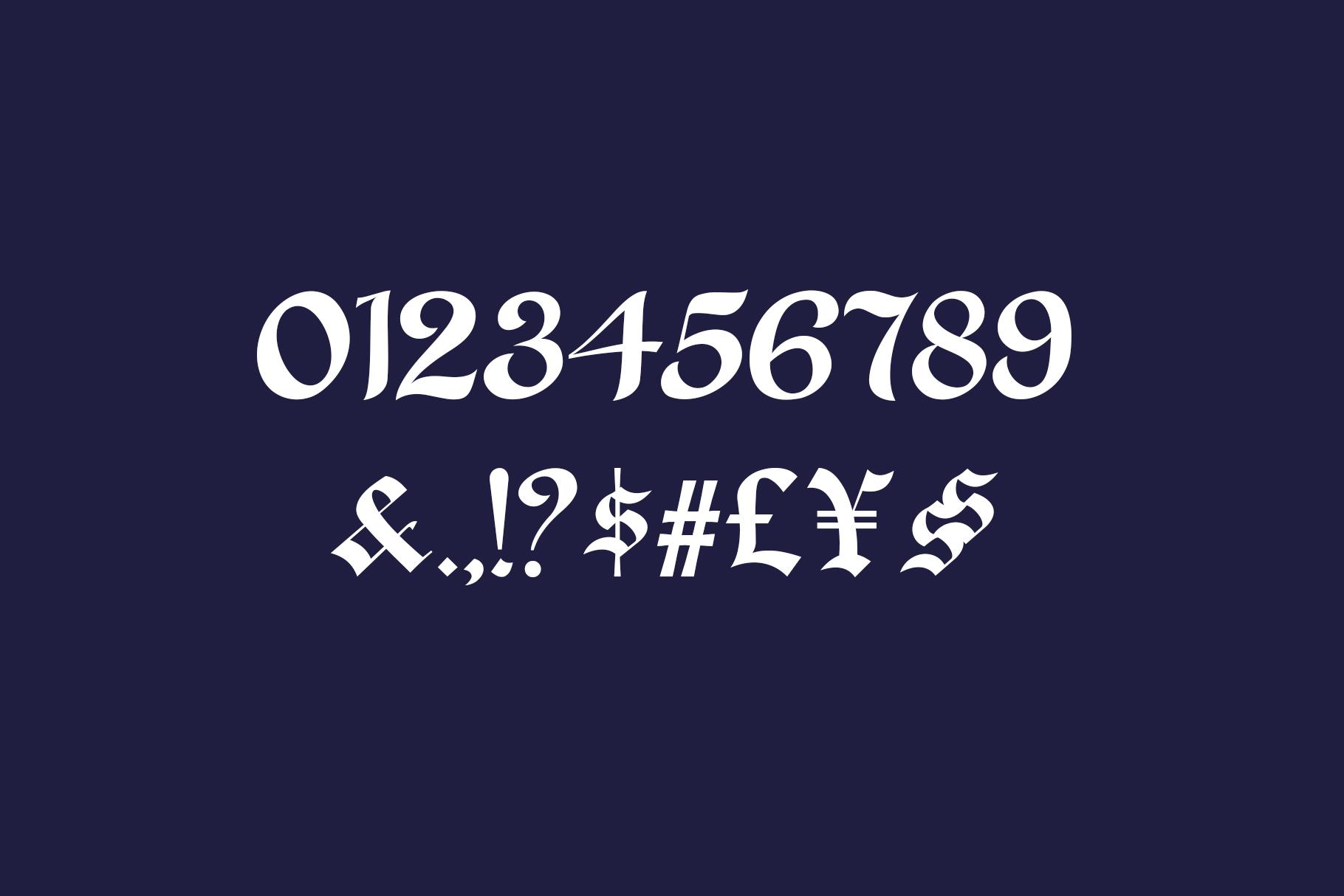 Alma Toran Typeface example image 11