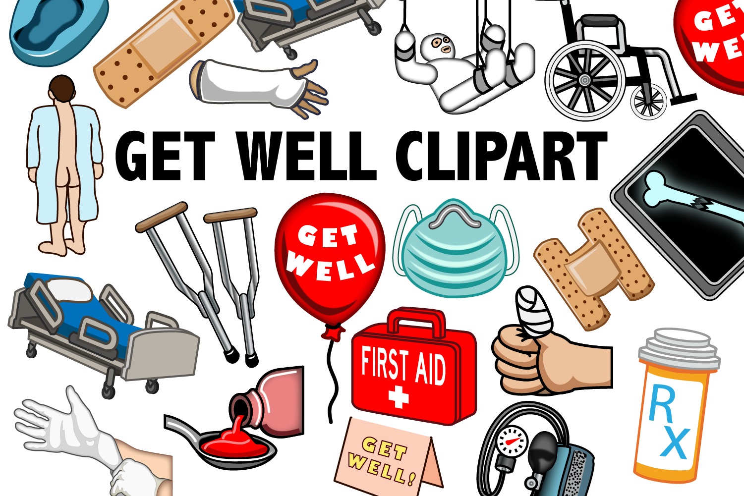 Get Well Clipart example image 1