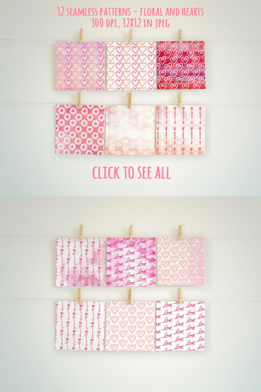 Valentine's Day Watercolor Giftbox example image 12