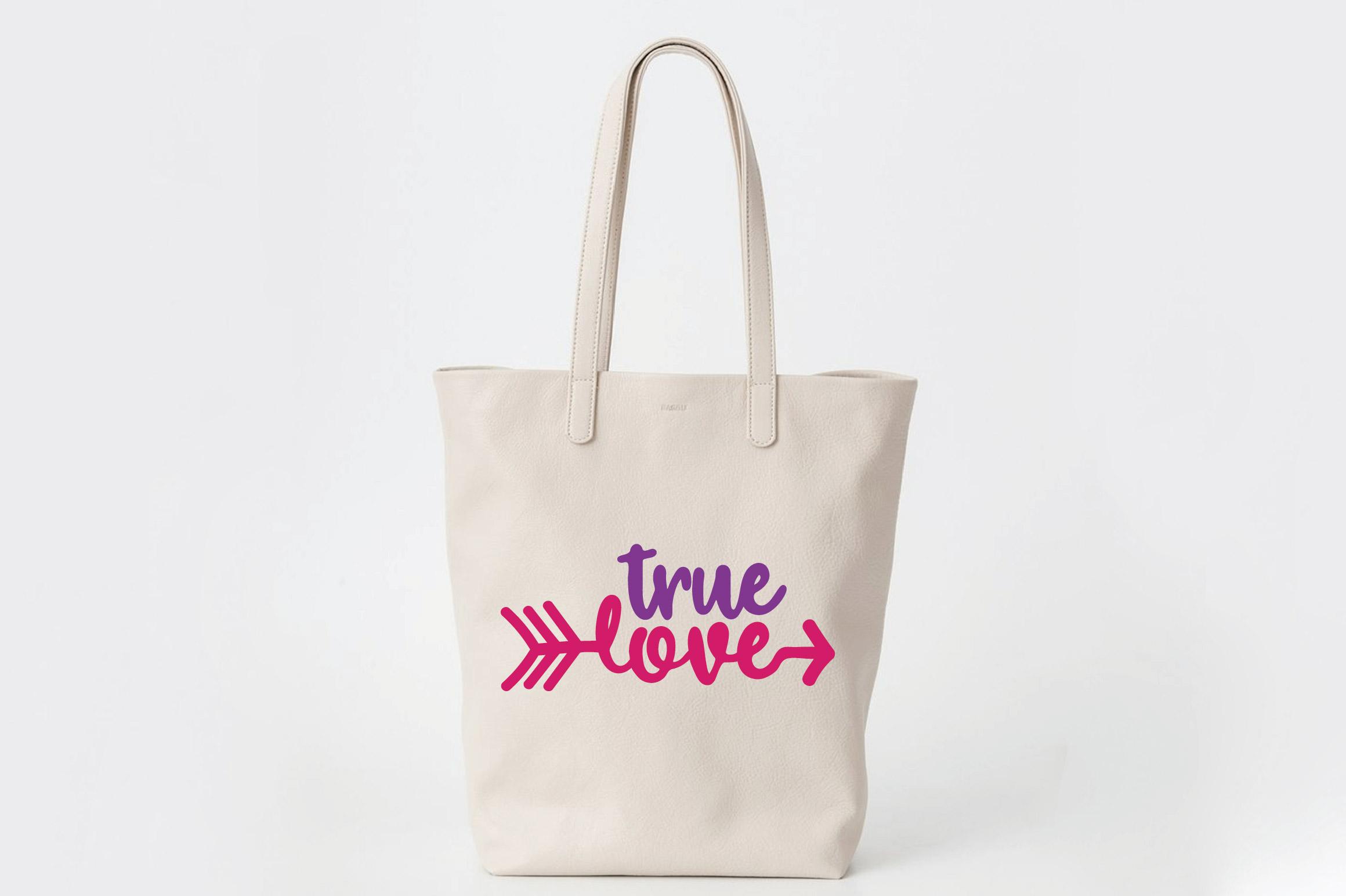 True Love SVG Cut File - Valentine SVG EPS DXF PNG PDF AI example image 7