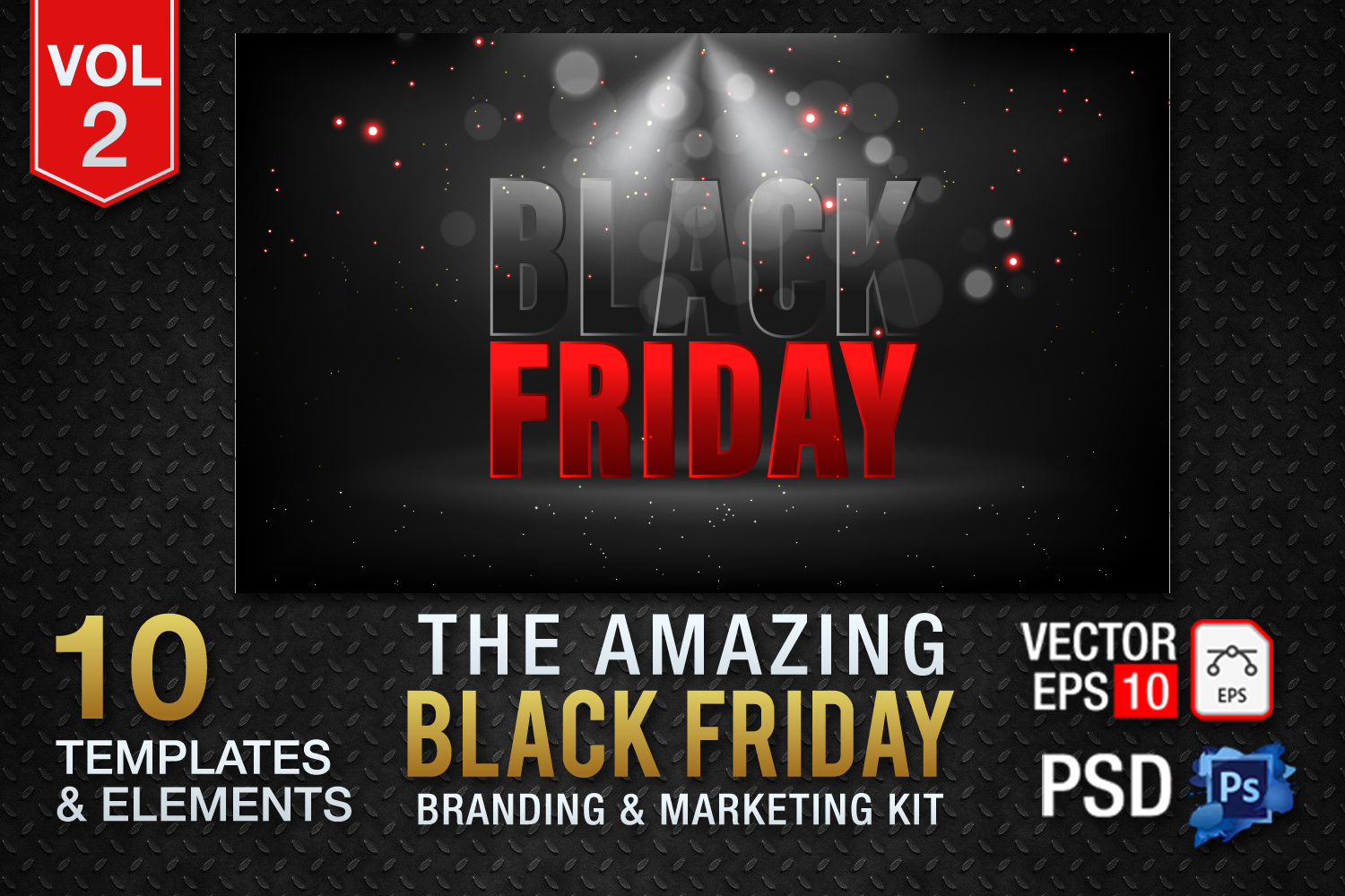 Black Friday Templates Vol 2 example image 1