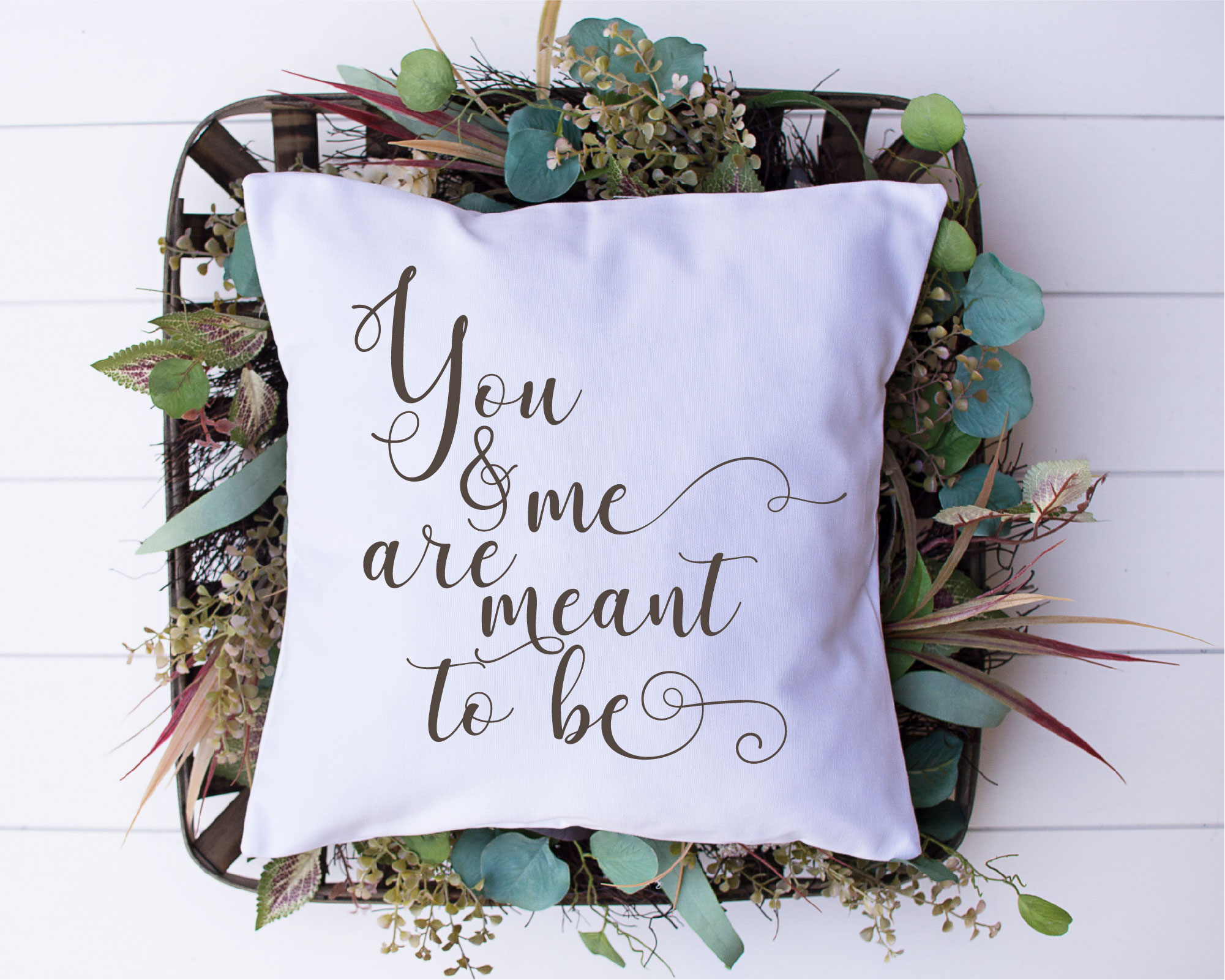You And Me Are Meant To Be SVG, Wedding, Love, Sublimation example image 2