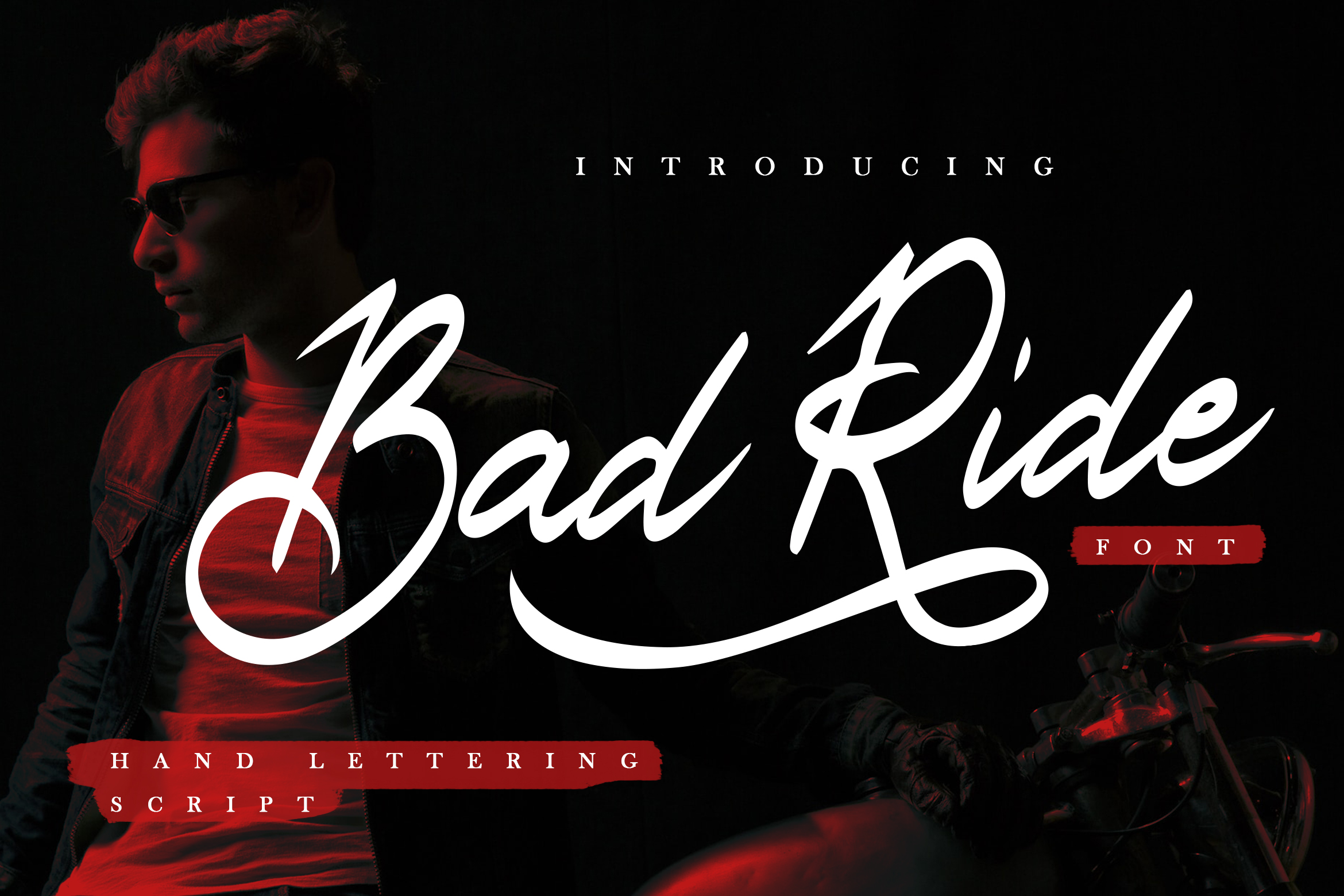Bad Ride - Handlettering Script example image 1