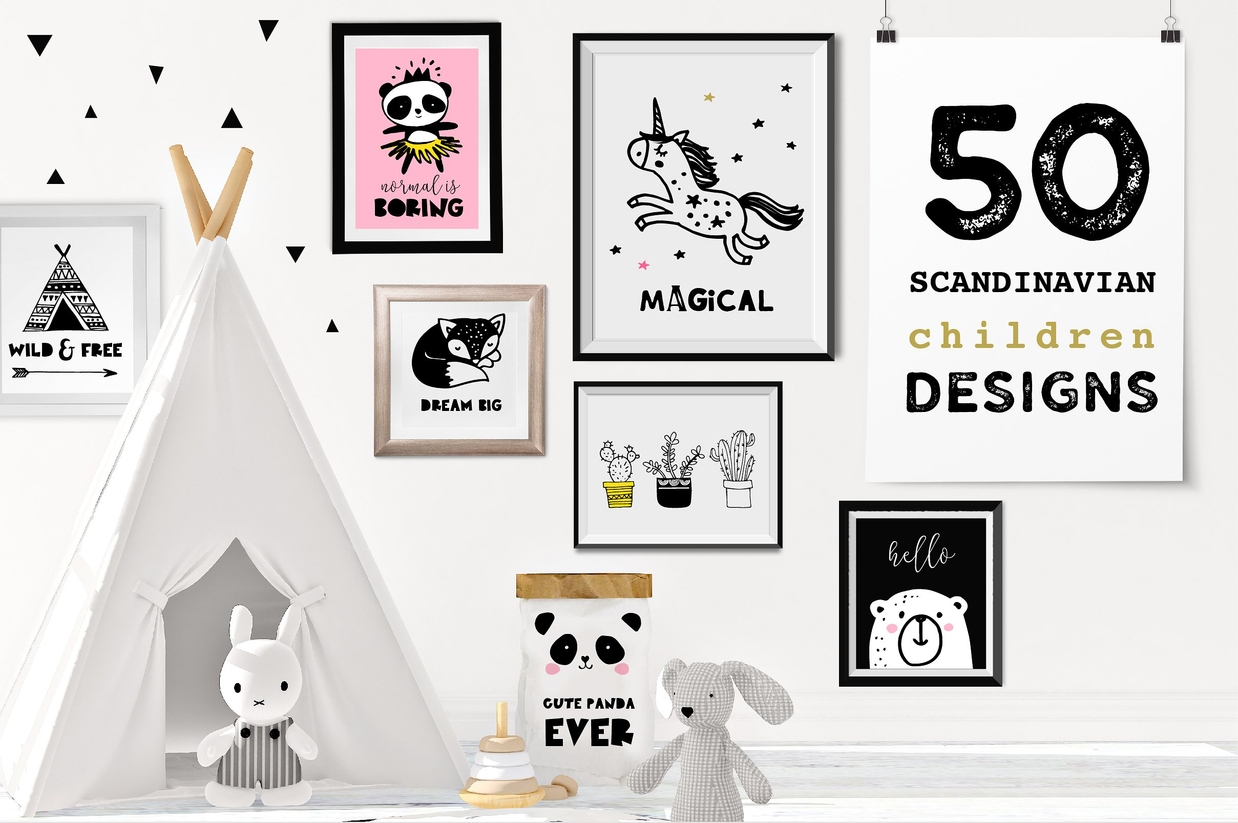 Scandinavian style decor & design example image 1
