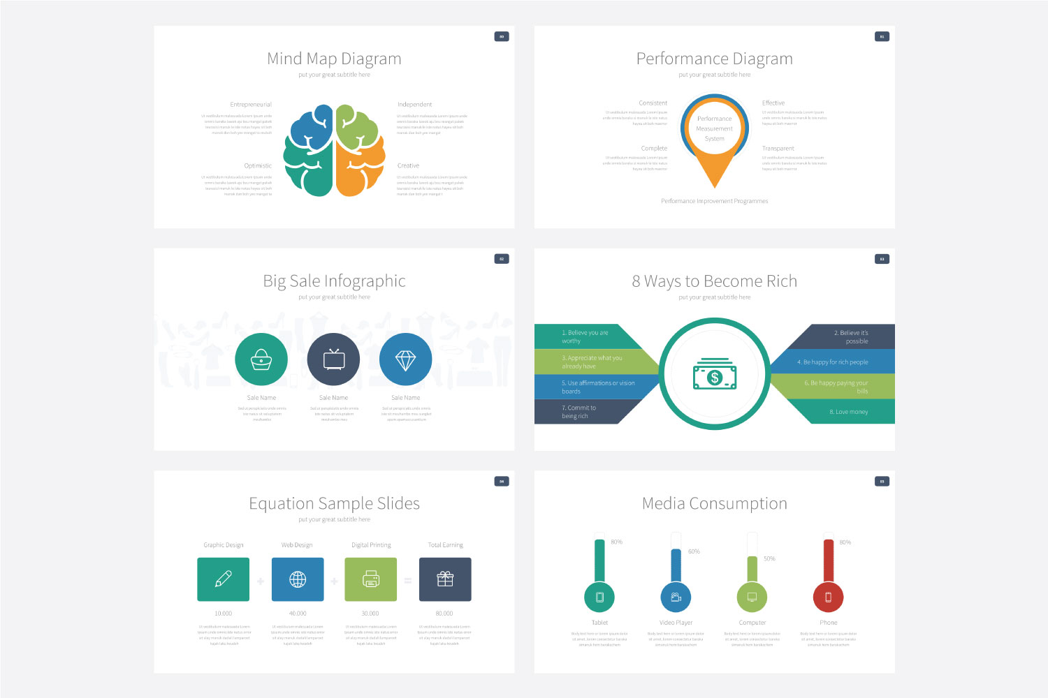 Phylox Powerpoint template example image 15