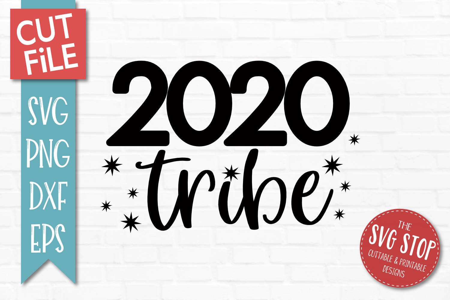 2020 Tribe New Years Eve SVG, PNG, DXF, EPS example image 1