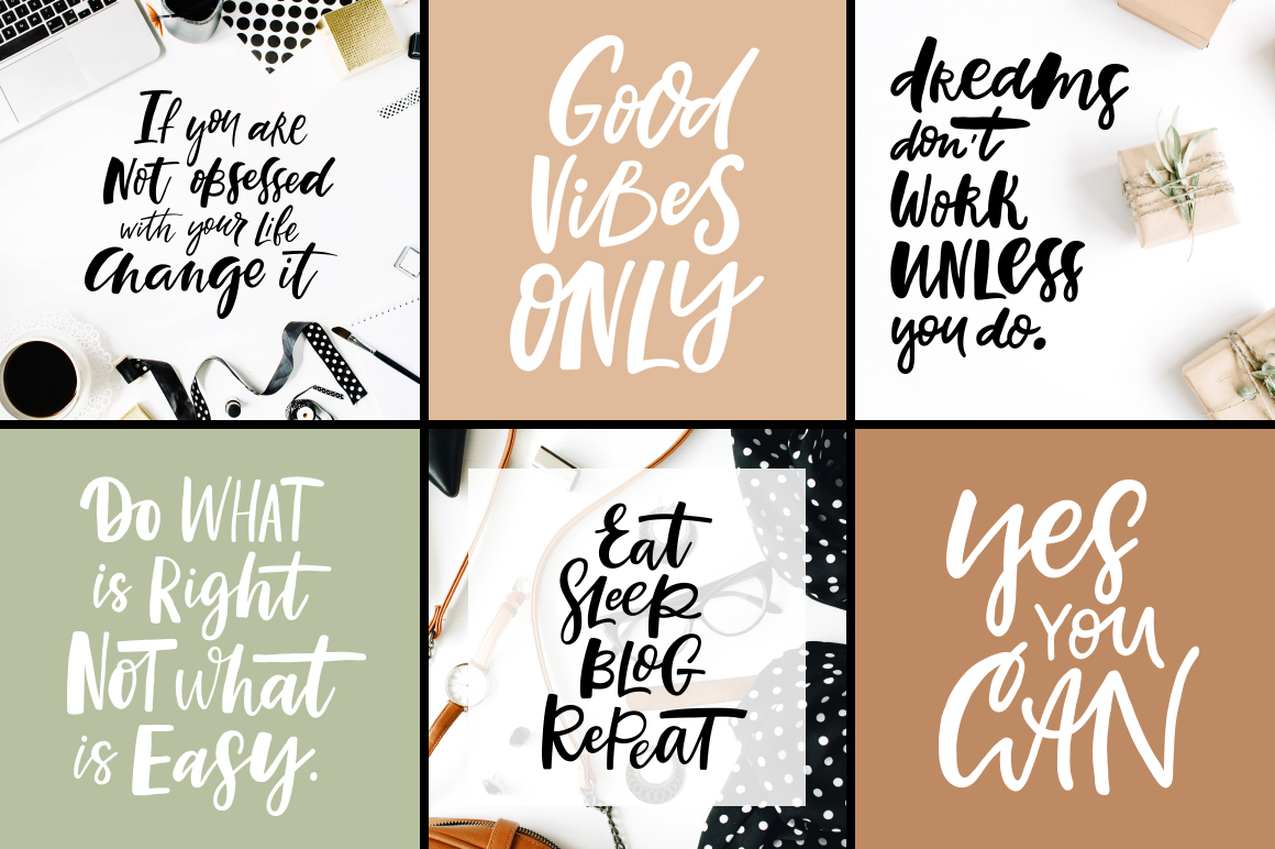 32 Hand-lettered quotes example image 2