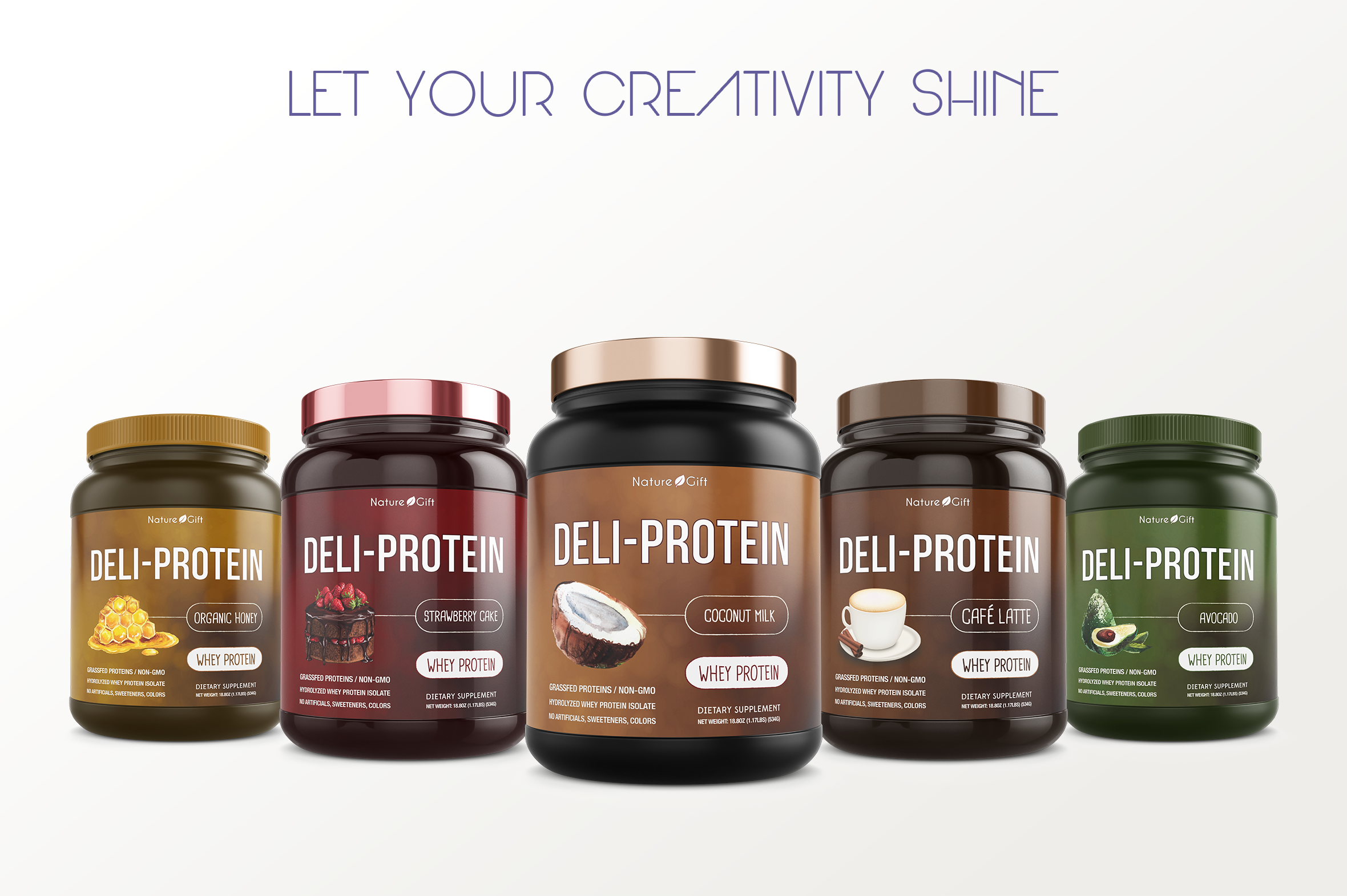 Protein Jar Mockup vol. 1A Plus example image 7