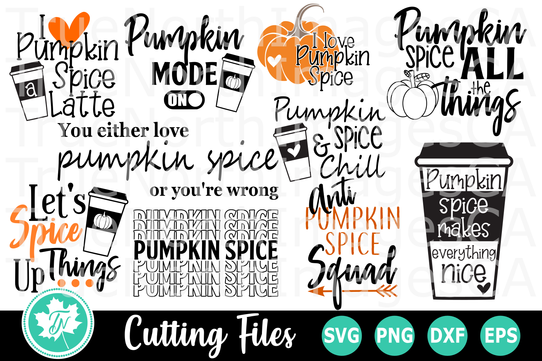 Pumpkin Spice Bundle - SVG Cut Files example image 2