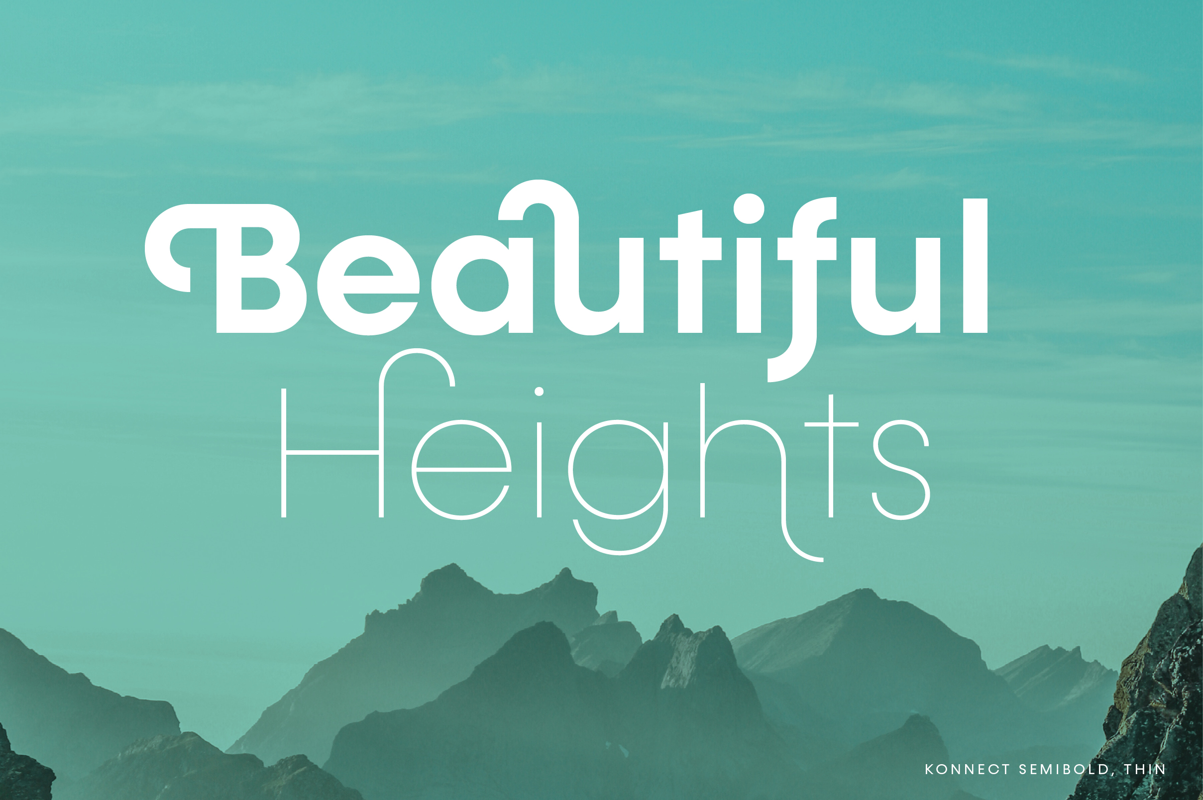 Konnect Font Family example image 14