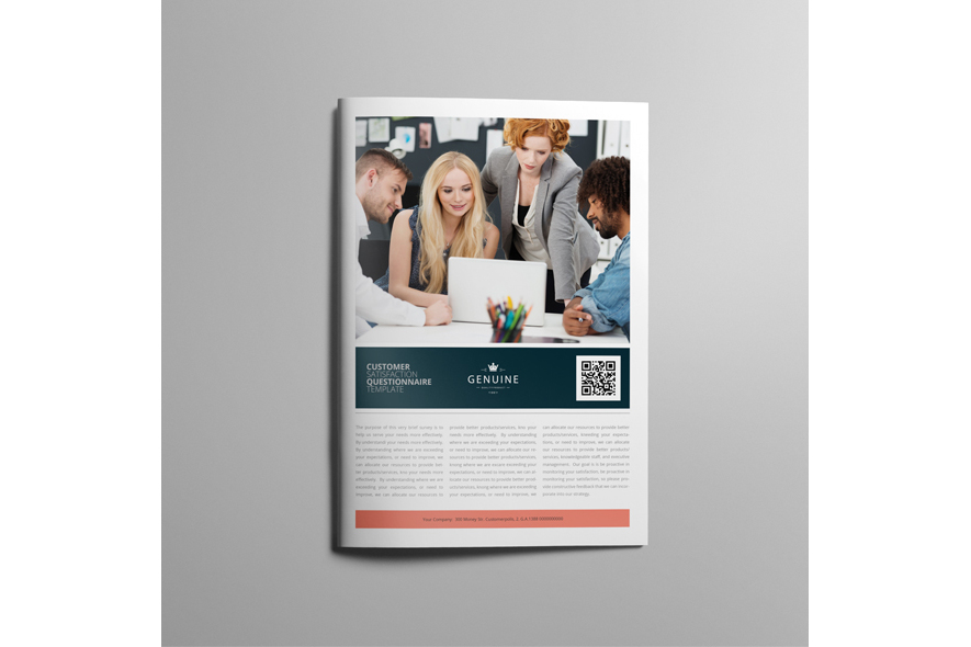 Customer Satisfaction Questionnaire Template example image 4