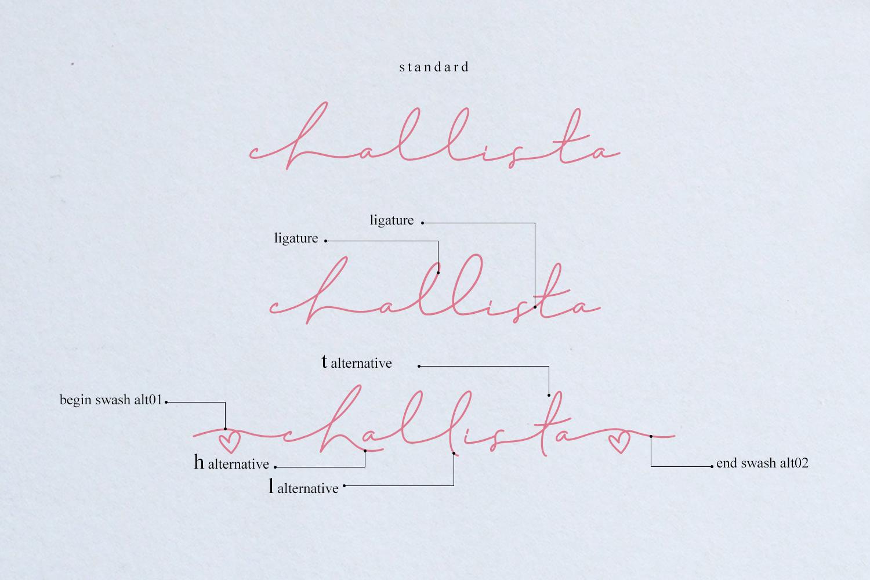 Challista Signature example image 5