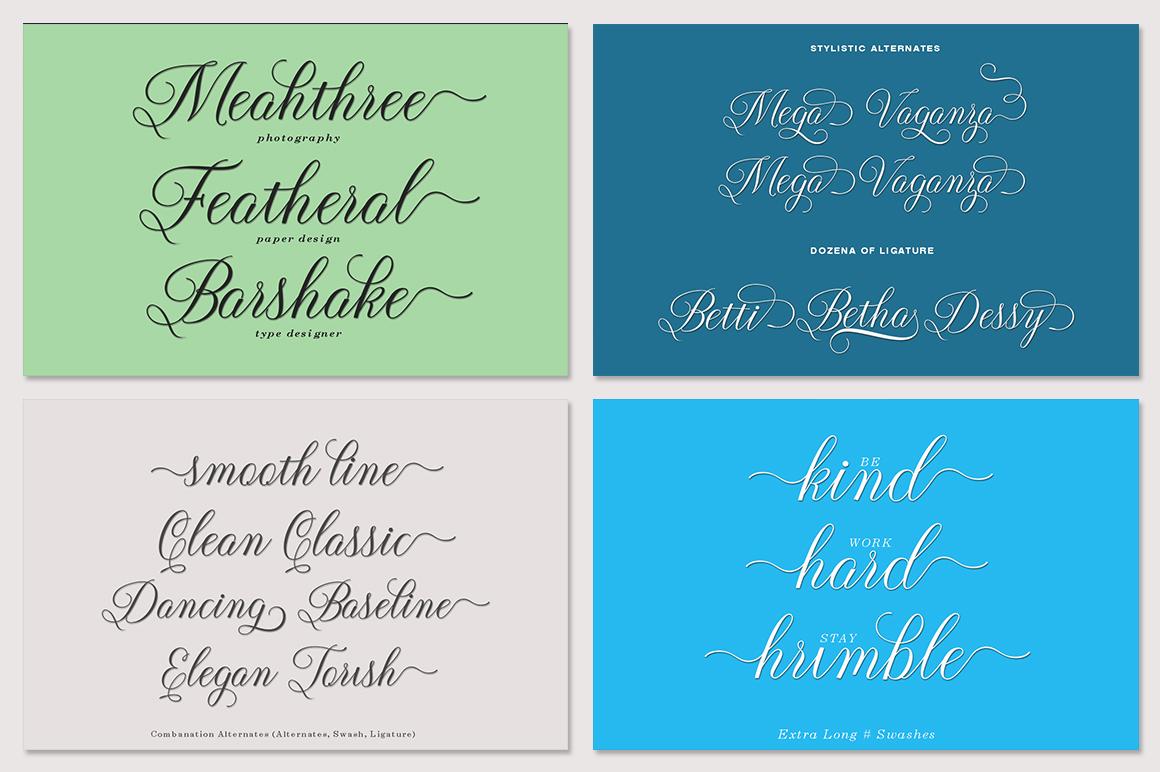 Mini Fantastic Font Bundle 7 Collection Font example image 2