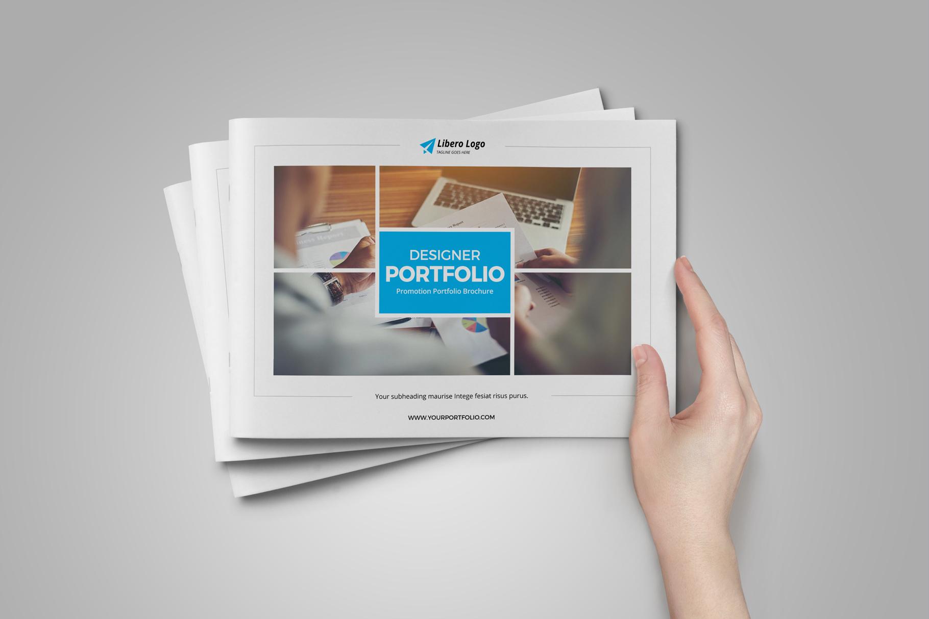 Portfolio Brochure Design v5 example image 13