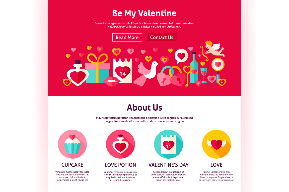 Valentine's Day Web Banners example image 4