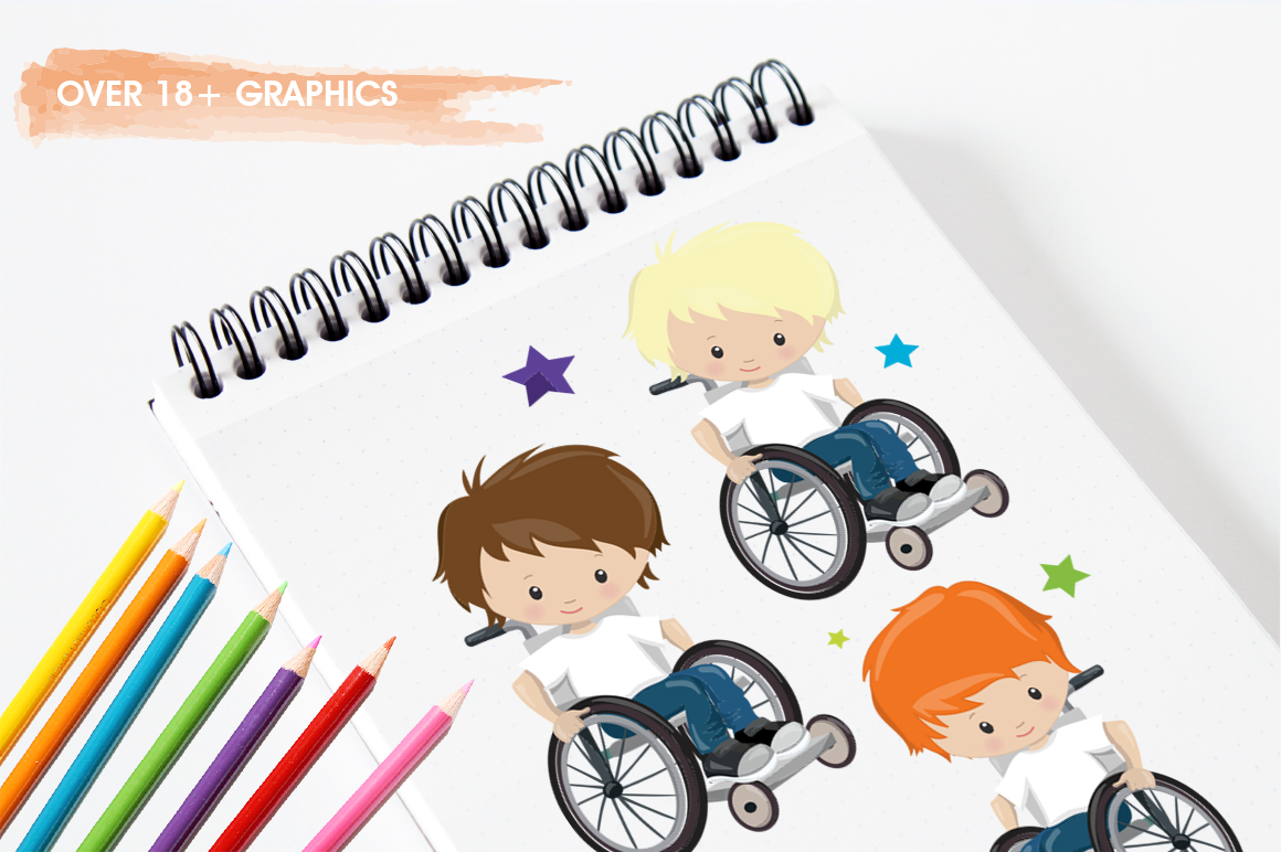 Little boys graphic and illustrations example image 3