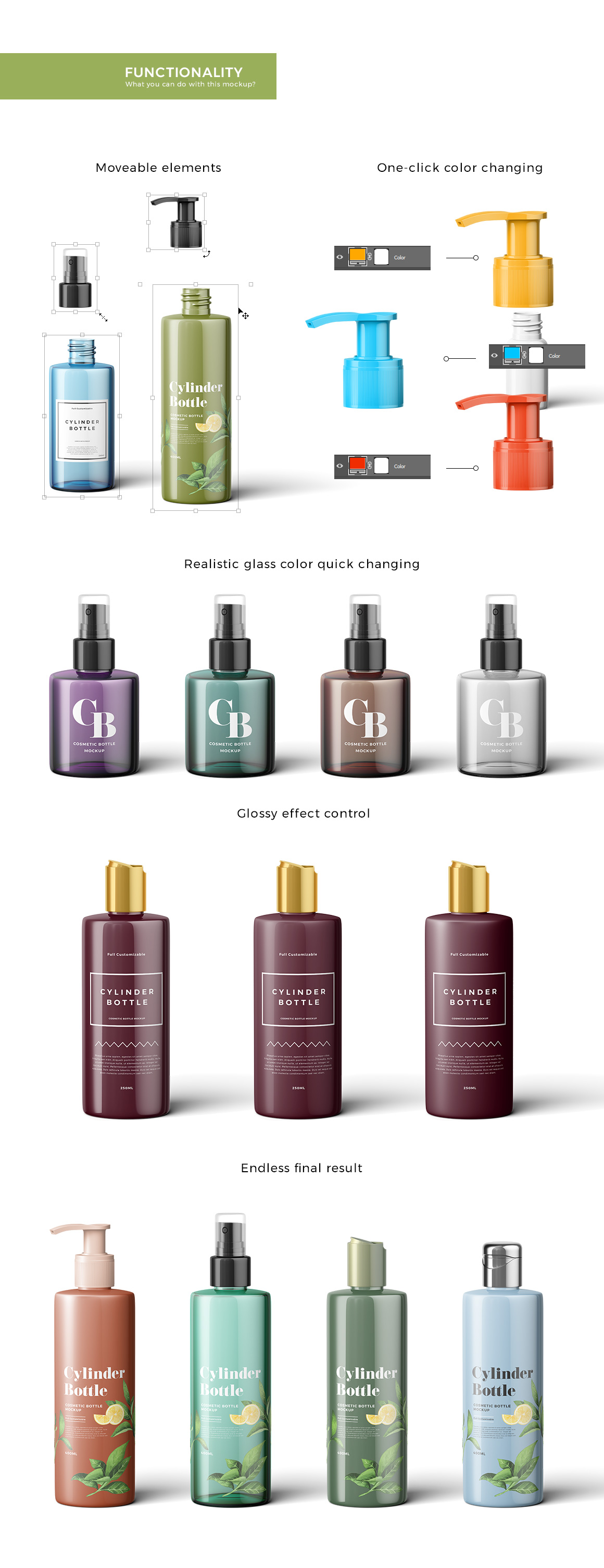 Cosmetic Bottles Mockup Vol.2 example image 4