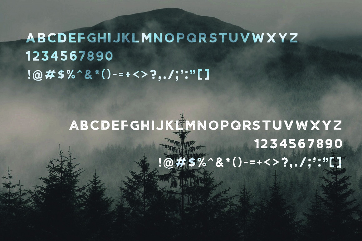 Agroable - Clean & Rough Font example image 2