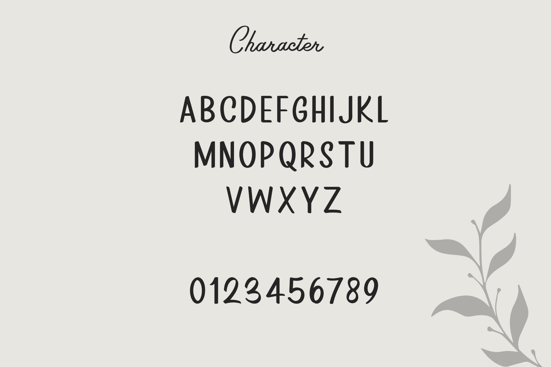 Rosinweed Font duo example image 5