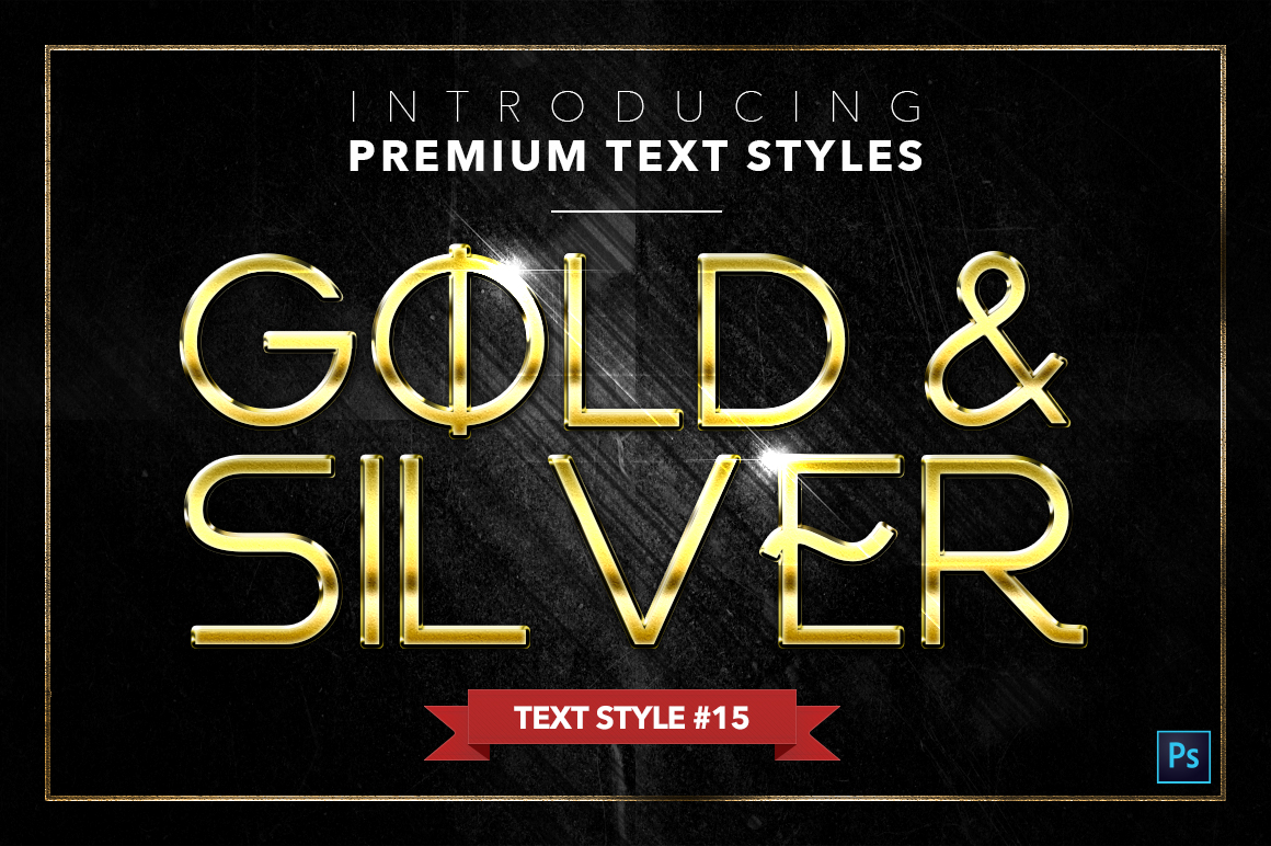 Gold & Silver #4 - 20 Text Styles example image 10