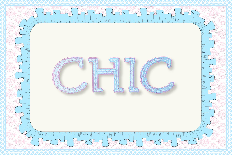 12 Shabby Chic Adobe Illustrator Graphic Styles example image 9