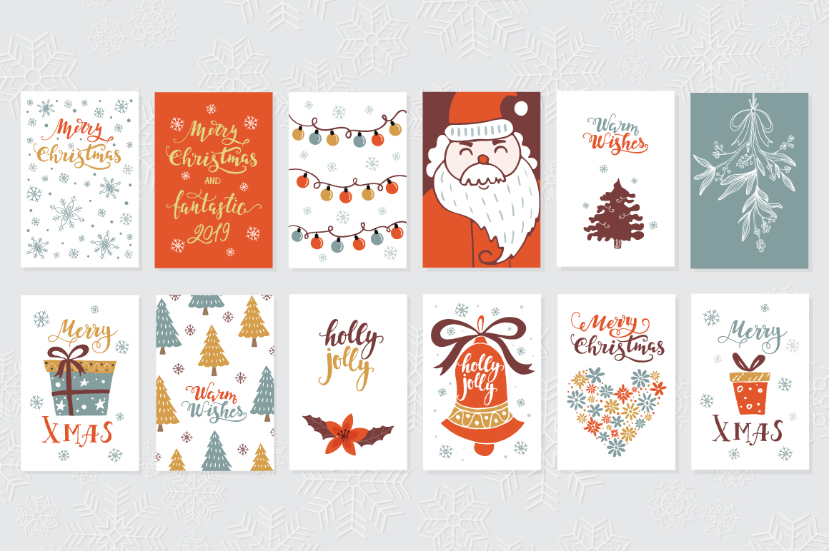 72 Christmas cards example image 12