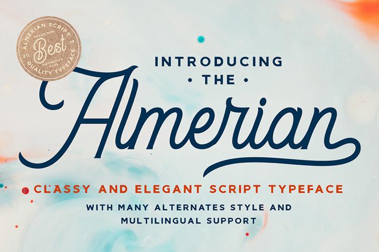 Almerian Script example image 1