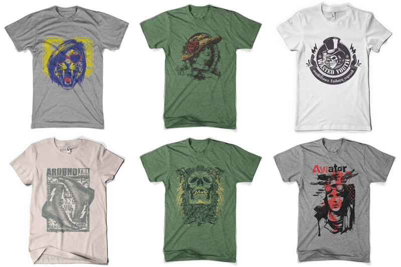 100 Premium T-shirt Designs example image 2