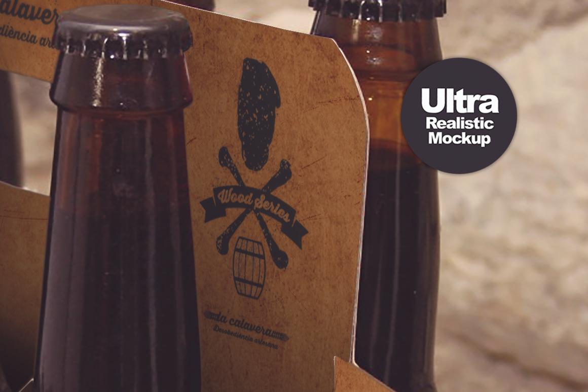 6 Pack Beer Mockup example image 9