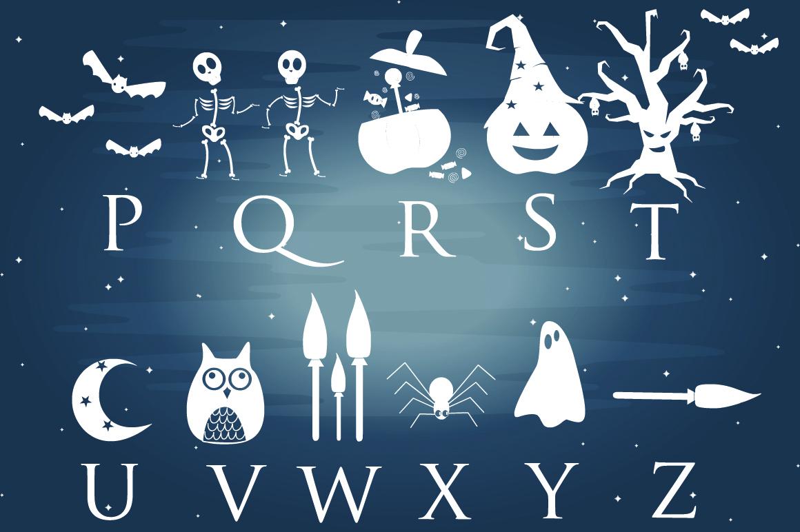 Halloween Dingbats Font example image 3