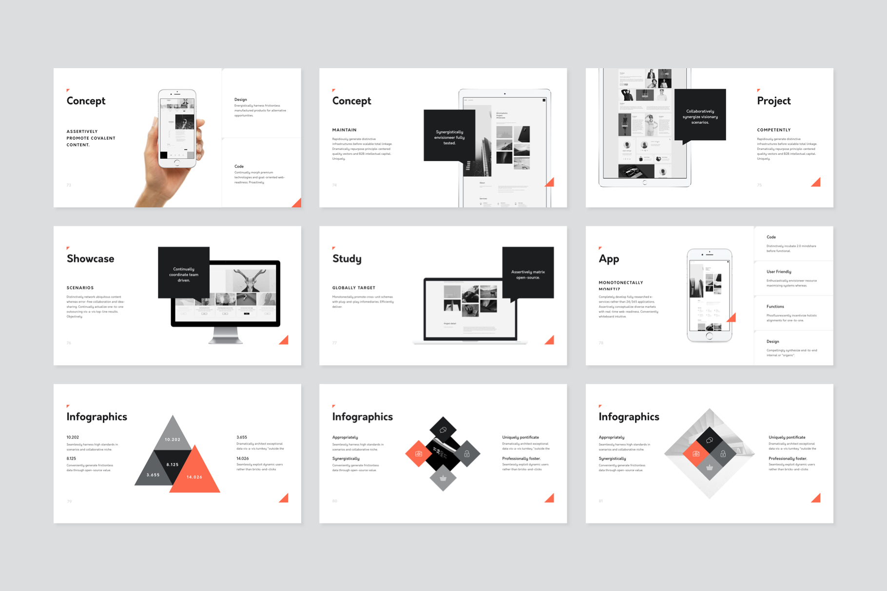 Corp Keynote Presentation Template example image 9