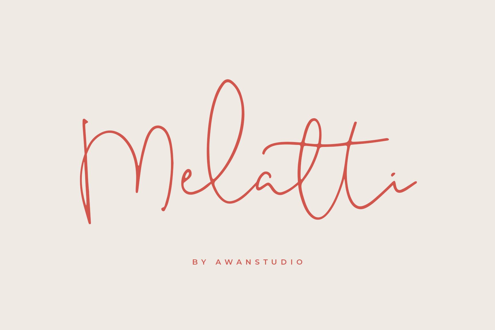 Melatti Font example image 1