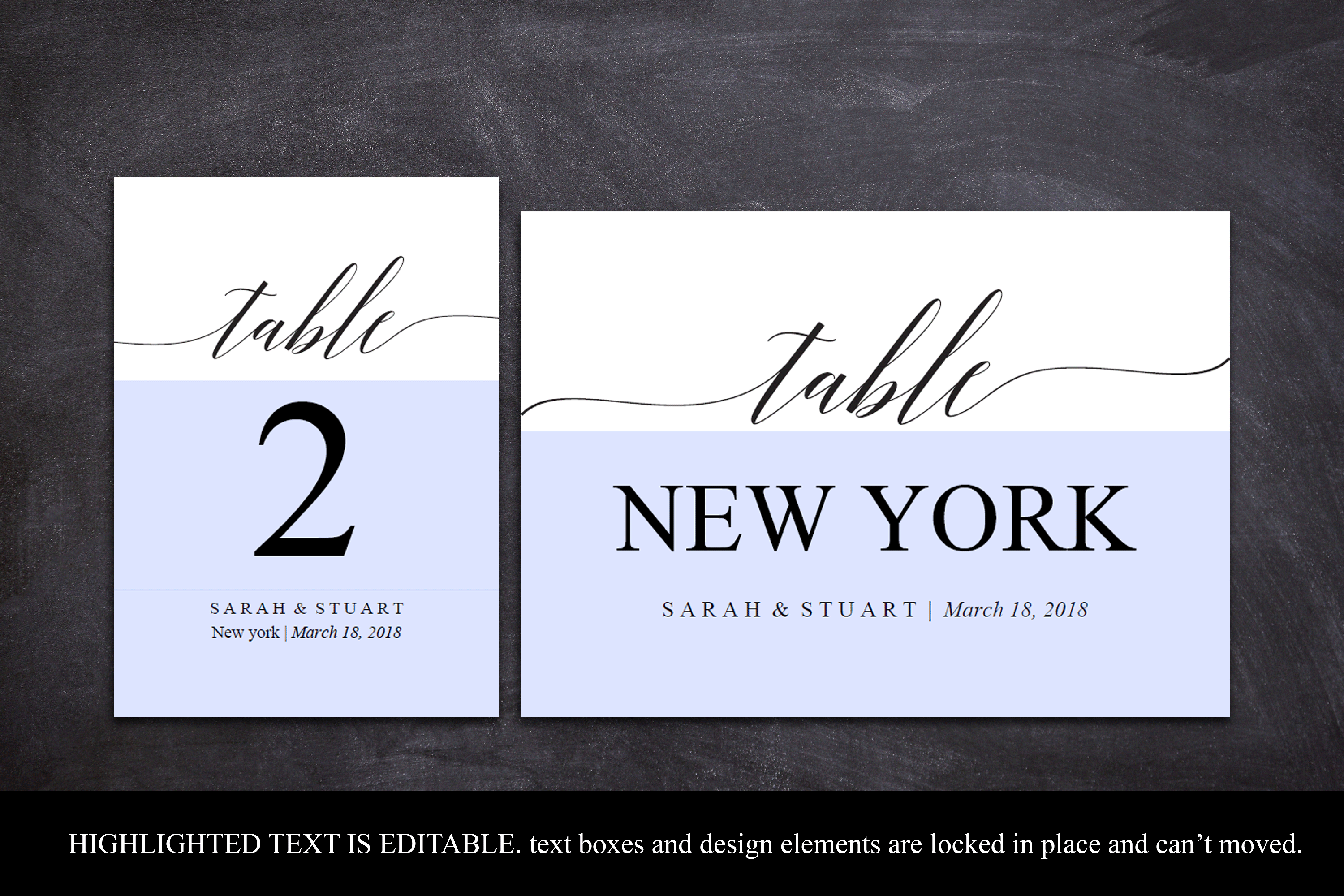 Printable Table Numbers, Wedding Table Number Printable example image 3