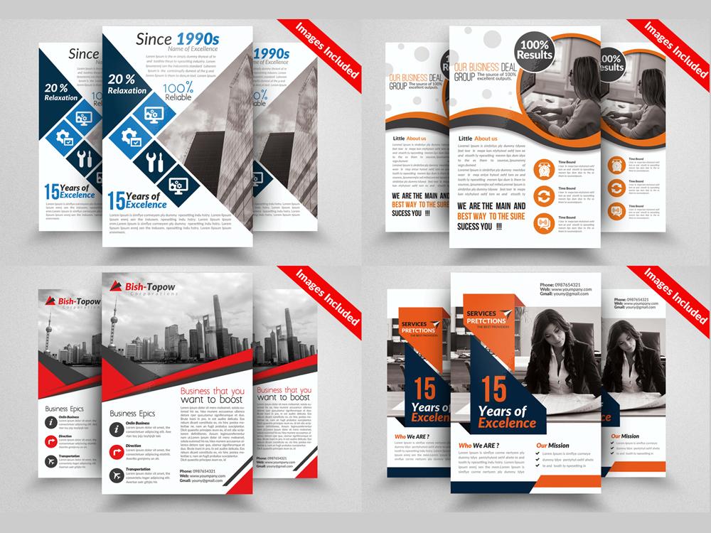 10 Professional Multi Use Business Flyer Bundle example image 4
